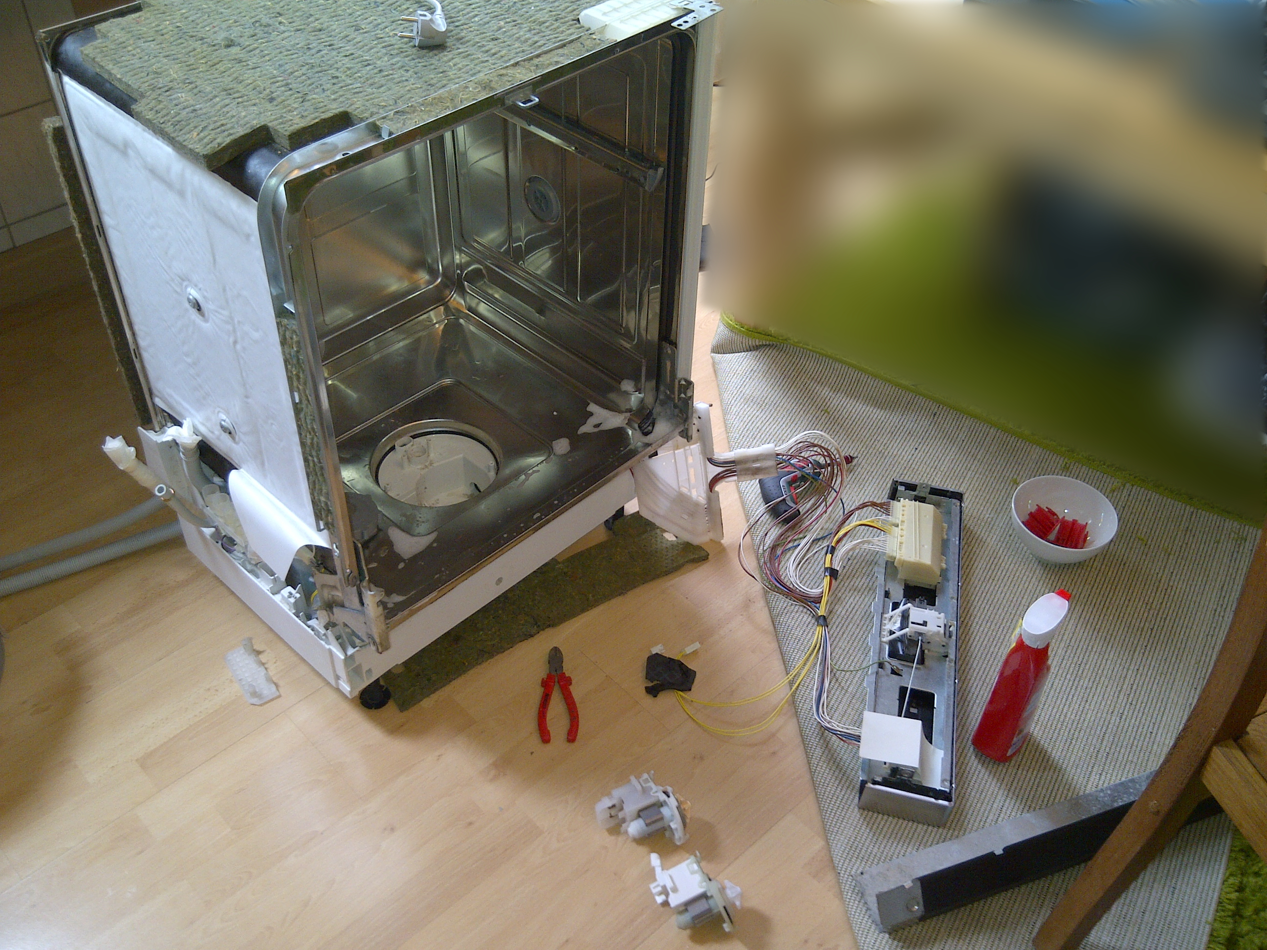 Berühmt Bosch GSP: Umwälzpumpe reinigen und Laugenpumpe tauschen – Davids IQ35