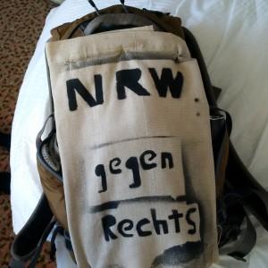 """""""Mönchengladbach gegen Rechts"""" war mir zu lang :)"""