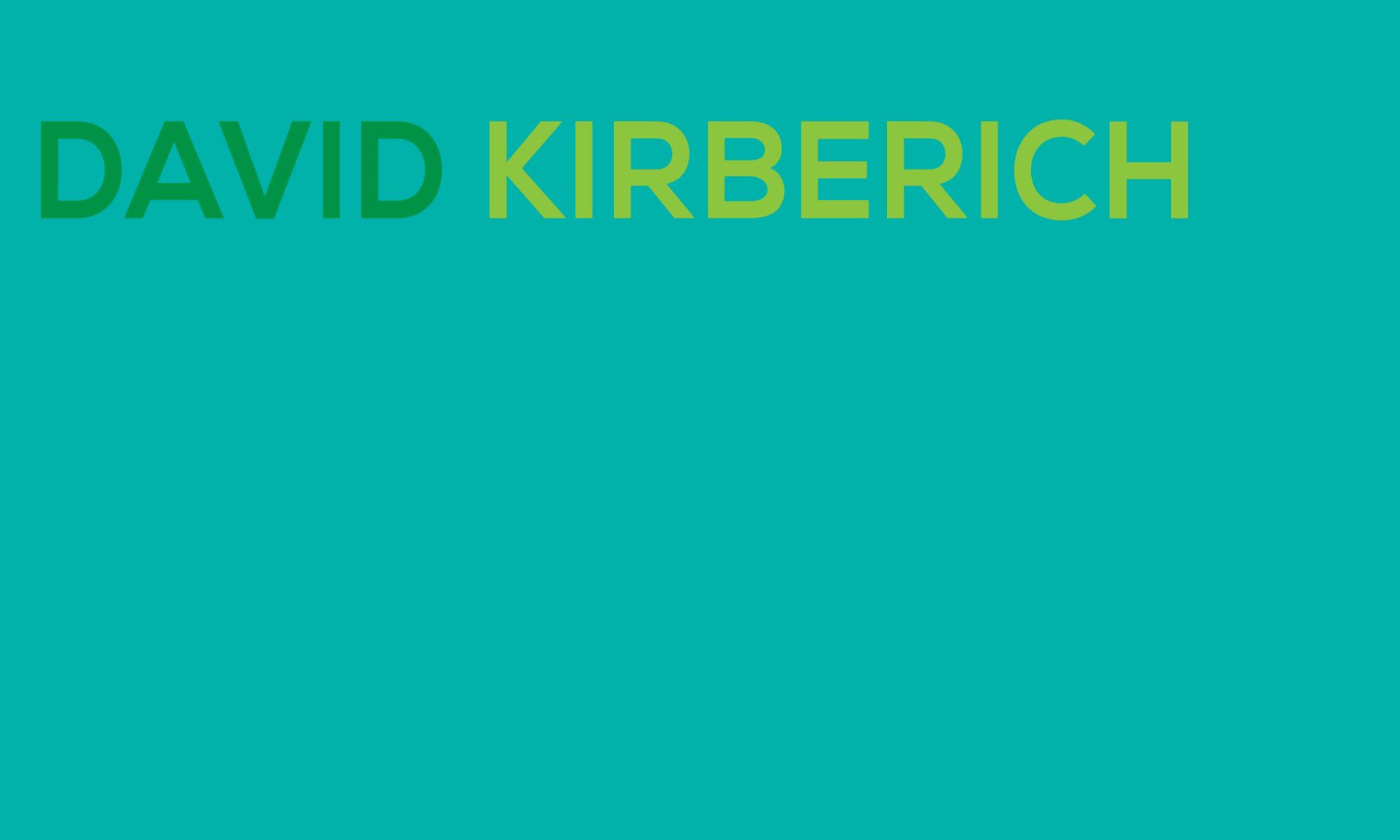 David Kirberich